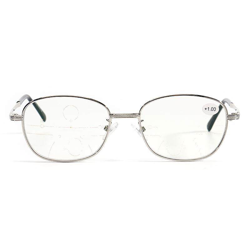 Kcasa Pria Internal Progresif Multifokal Lensa Presbiopia Cerdas Kacamata Baca + 100-Internasional