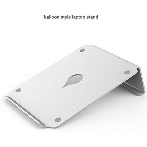 Macbook Aluminum Stand ,Kupx Hollow Balloon Aluminum Laptop Stand Cooling Pad For Macboock Laptop 10-17 Inch - intl