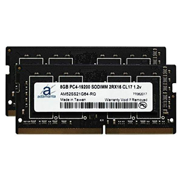 Adamanta 16GB (2x8GB) Laptop Memory Upgrade for HP ZBook 15 G4 & ZBook 17 G4 Mobile Workstation with Intel i5 & i7 Processors DDR4 2400Mhz PC4-19200 SODIMM 2Rx16 CL17 1.2v RAM DRAM - intl