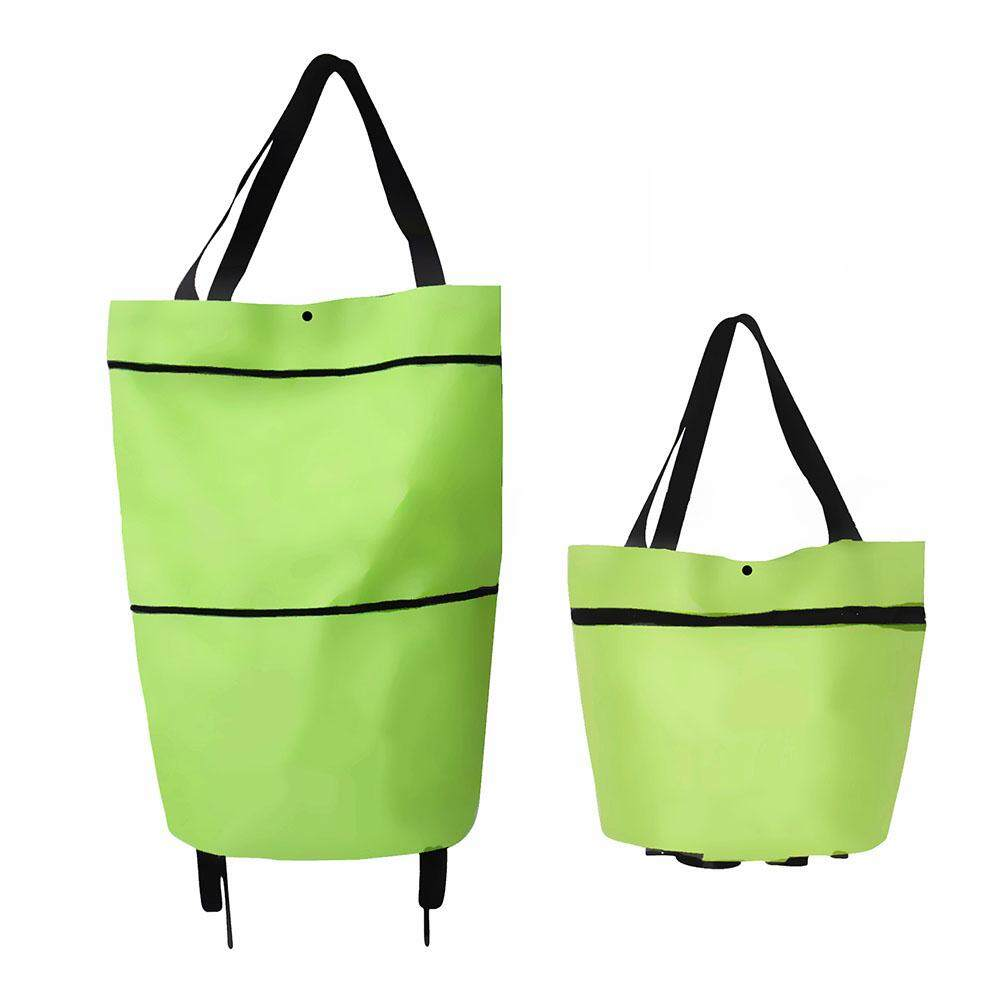 Folding Shopping Bags Trolley Grocery Shopper Lightweight Foldable with wheels