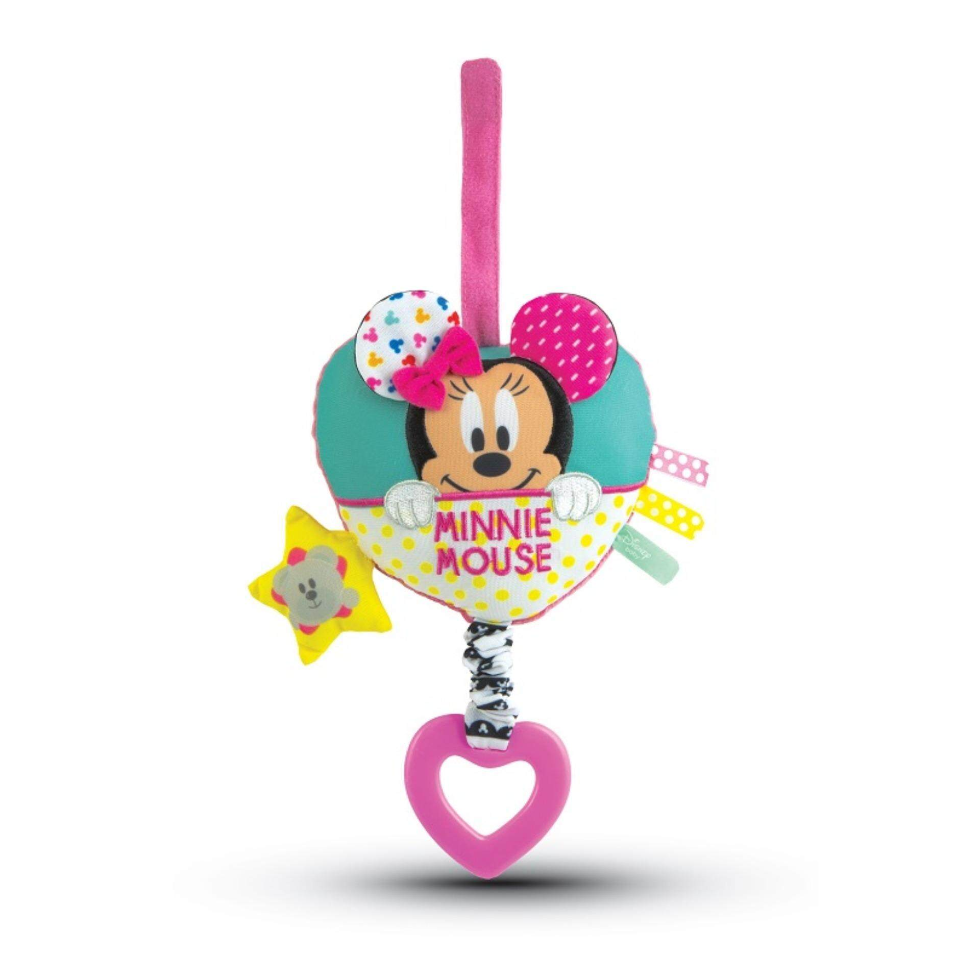 Disney Baby Hanging Carillon Soft Musical Box Bed Bell Toys - Minnie toys education
