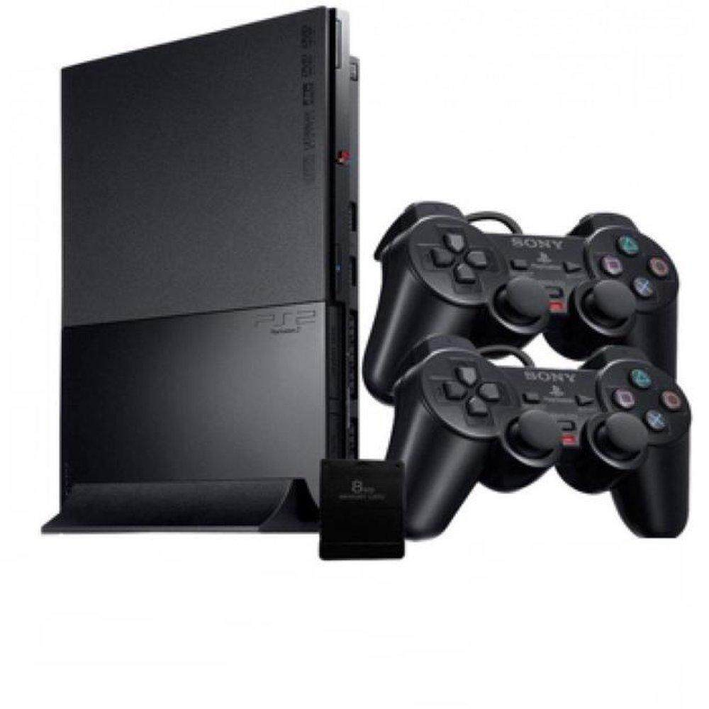 Ps2 90000 Full Set Bundle*FULL SET MURAH * MEMORY CARD + 2 CONTROLLER