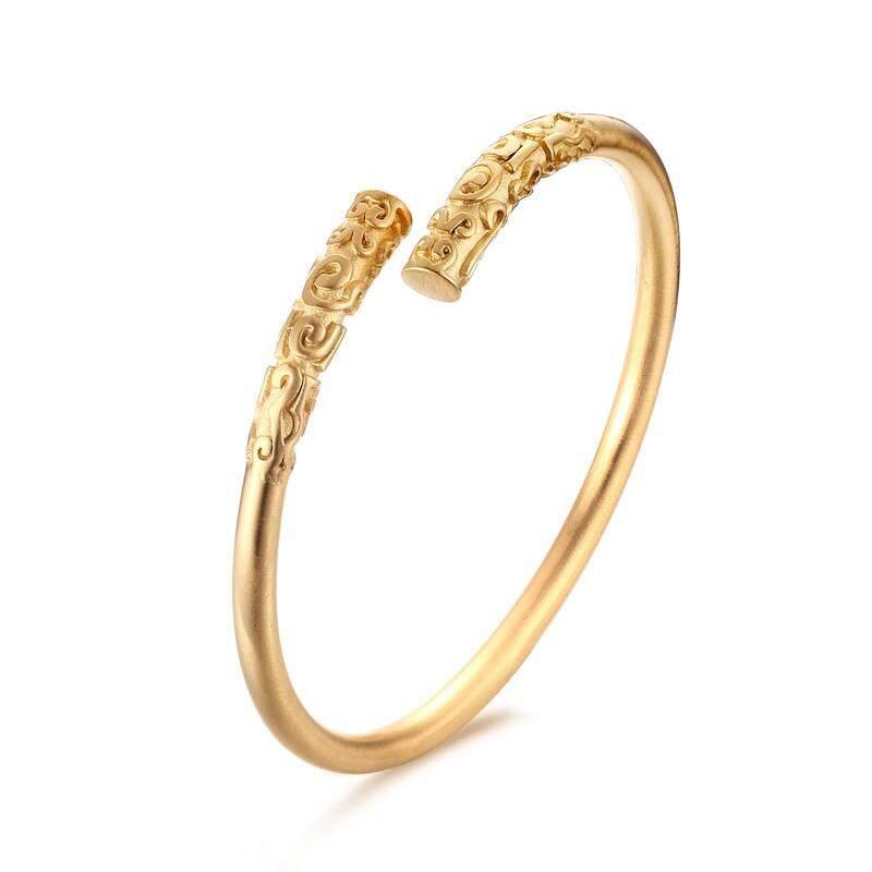 Deals For Cuff Bracelets For Women Jewelry Gold Color Monkey King Bar Style Bracelets Bangles Intl