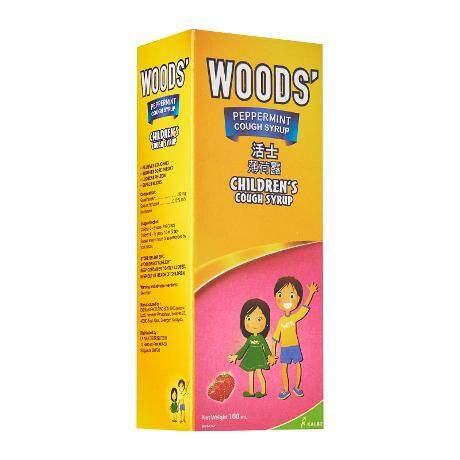 Woods Children Cough Syrup 100ml