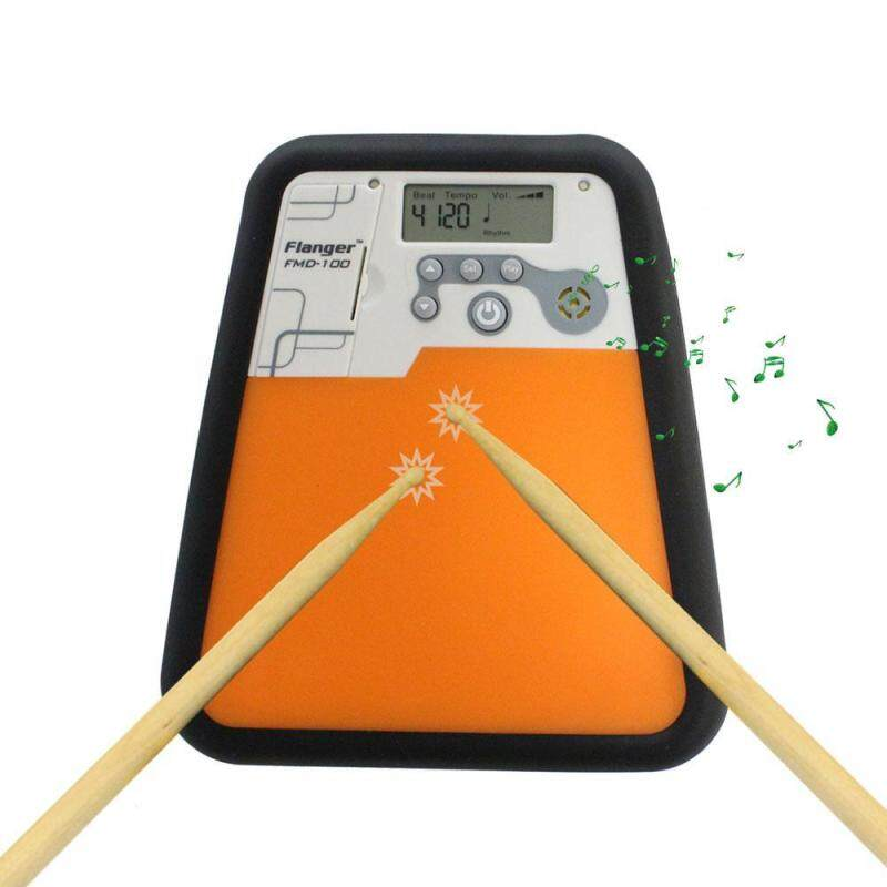 cokmp Electronic Drummer Training Practice Drum Pad Metronome Instrument - intl