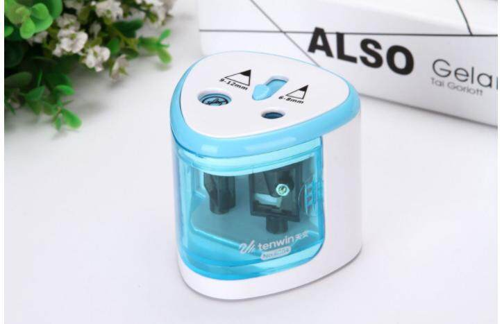 Ready stock~Double holes Battery Operated Pencil Sharpener