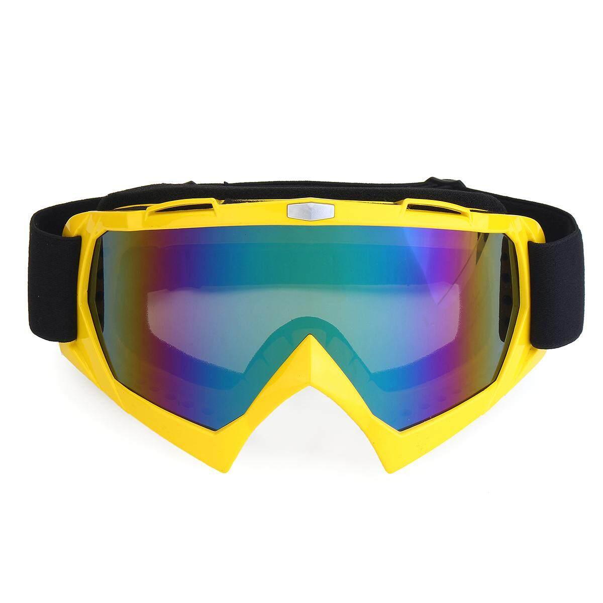 Merek Kacamata Sepeda Motor Trail ATV Cross Naik Ski FOX Kacamata Motorcross Motor untuk Motor UV