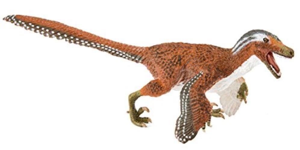 Safari Ltd. feathered Velociraptor-Model Lukisan Mainan Lukis Handal Yang Realistis-Konstruksi Mutu dari Phthalate, pimpinan dan BPA Bebas Materials-untuk Usia 3 dan Ke Atas-Internasional
