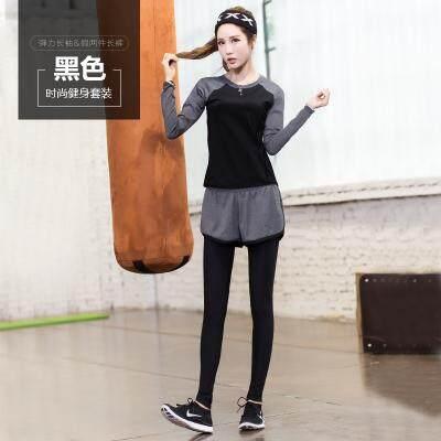 (Pre Order 14 days) JYS Fashion Korean Style Women Sport Wear Set Collection 540 - 8584 set 6