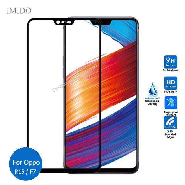 9H Full Cover tempered glass For Oppo A3s Screen Protector