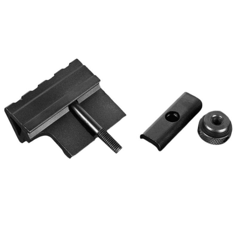 ERA 45-Degree Flashlight Torch Guide Rail Hunting Gun Holder Fixing Bracket