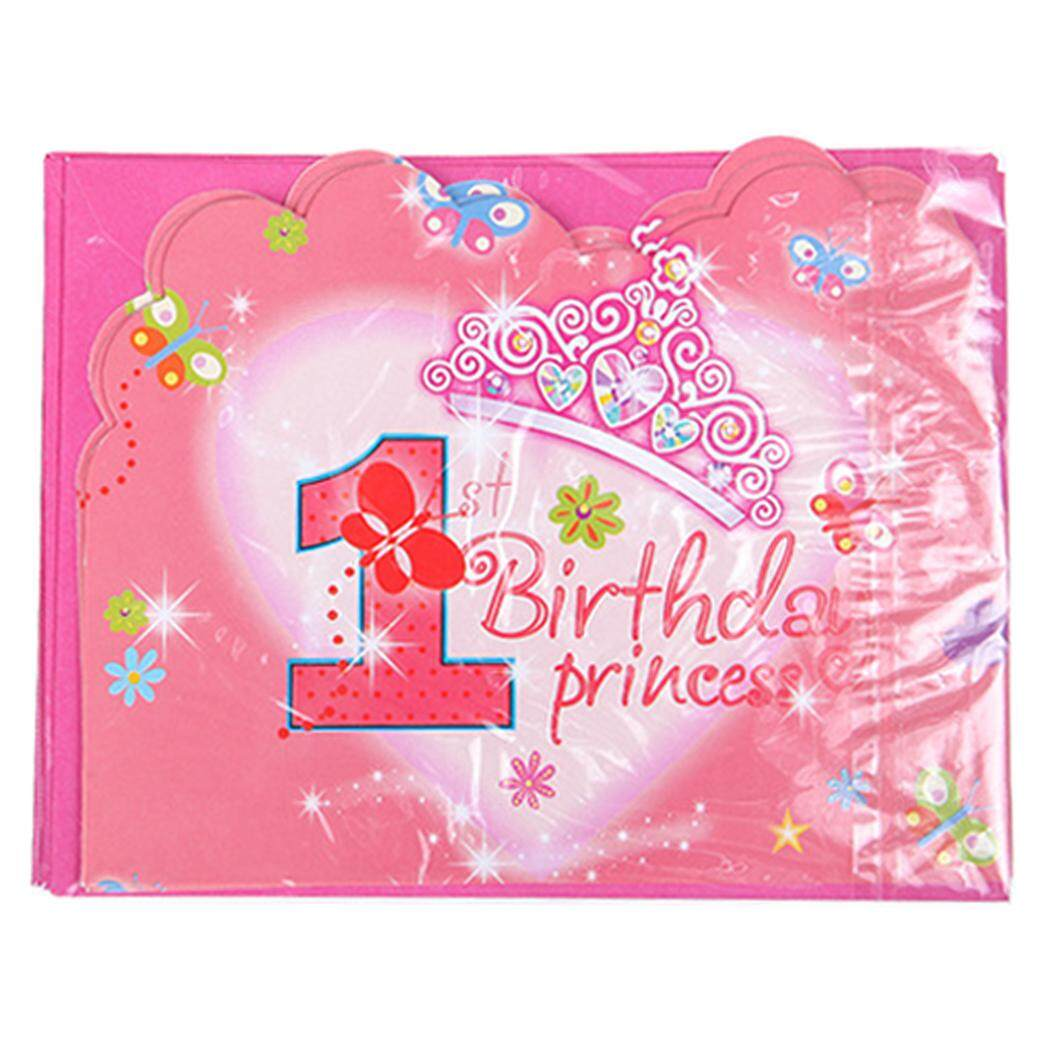24PCS Invitation Card Creative Pattern Birthday Party With Envelope For
