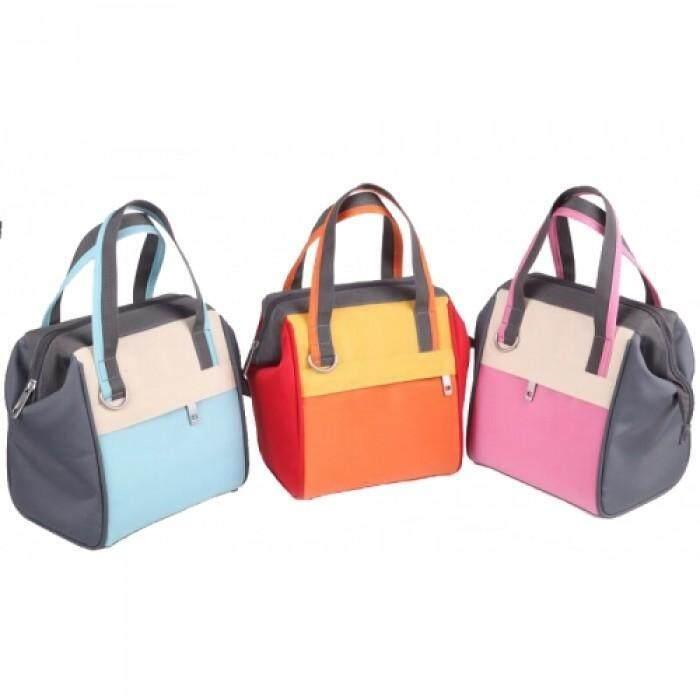 [ISA UCHI] Sookii Cooler Bag with 4 Bottles - Haru (Pink)