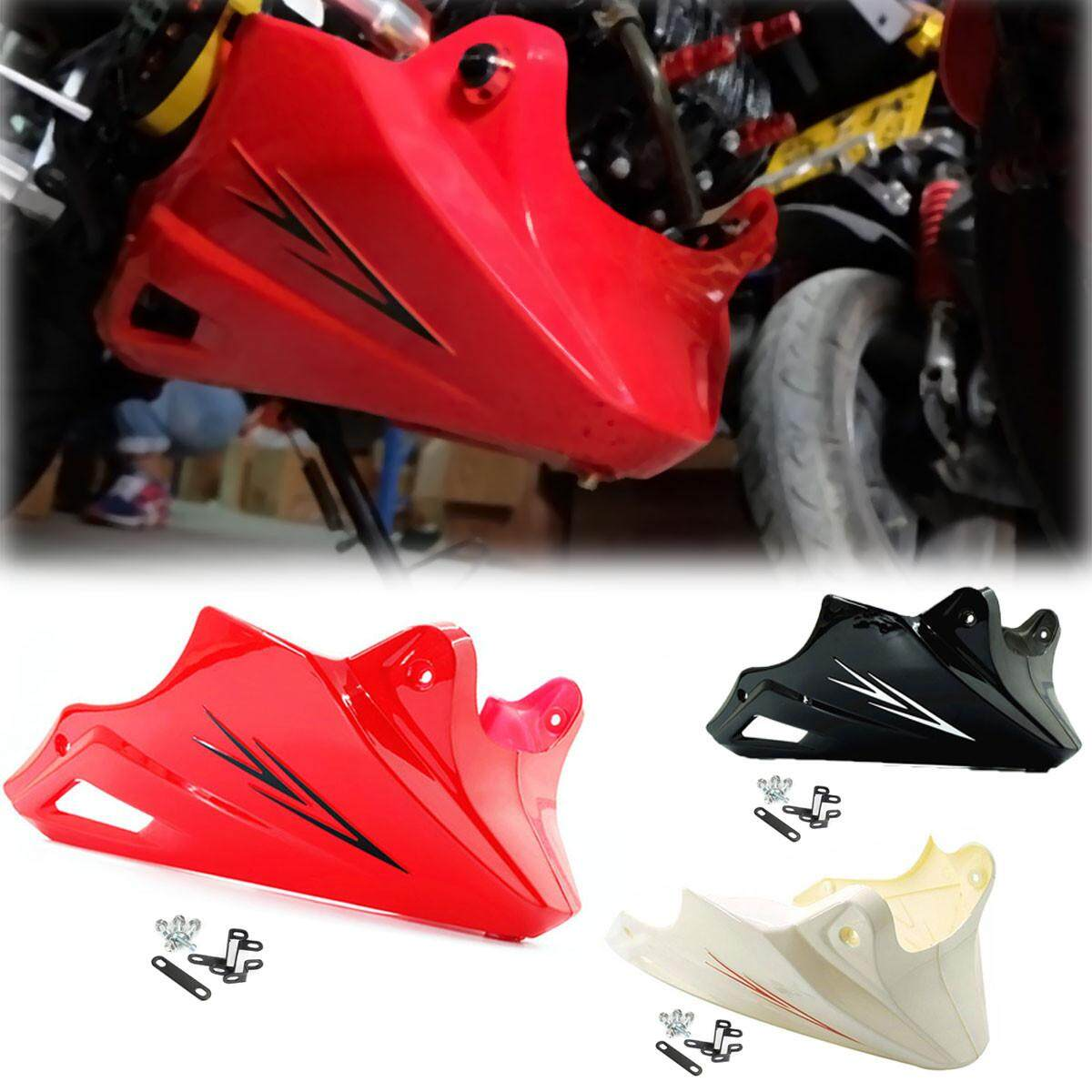 Fitur Cover Engine Transformer Old Cb150r Tutup Mesin New T Shirt Black Protector Guard Under Cowl For Honda Grom Msx 125 2013 2014 2015