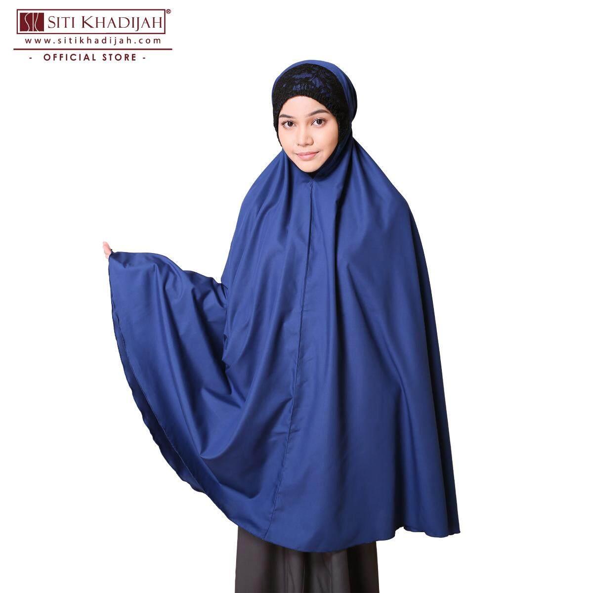 Telekung Siti Khadijah Klasik Daania (Blue) (Top only)