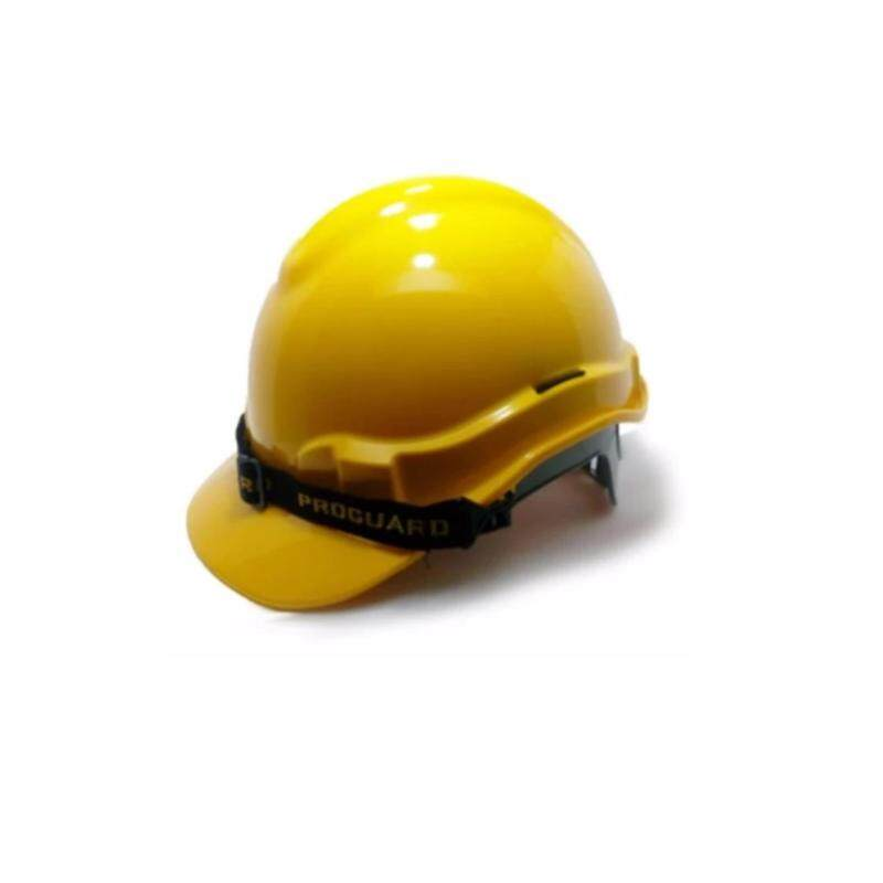 Yellow Proguard Safety Helmet (SIRIM) for industrial / construction sites