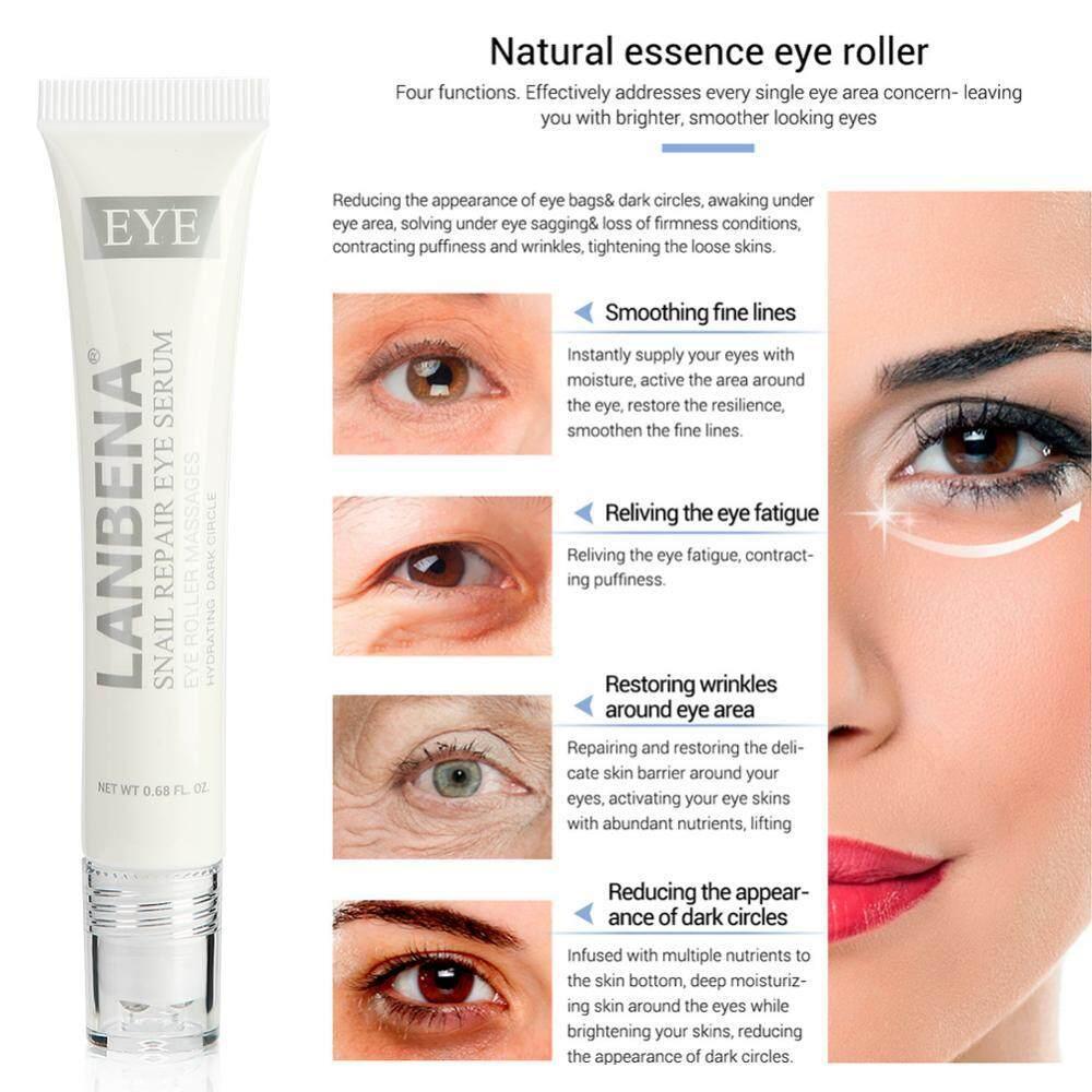 Snail Repair Eye Serum Eye Essence Natural Roller Massage Anti-aging Hydrating Dark Circle -
