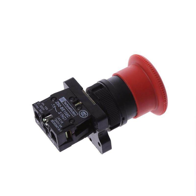 22mm NC N/C Red  Emergency Stop Push Button Switch 600V 10A
