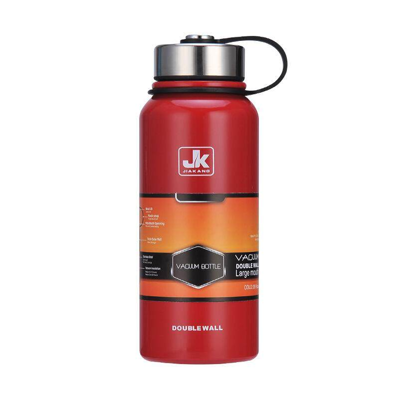 New Space Thermal Insulation Pot 304 Stainless Steel Insulated Cup Outdoor Sports Cup Large Capacity Water Cupnred 1100ml - Intl By Freebang.