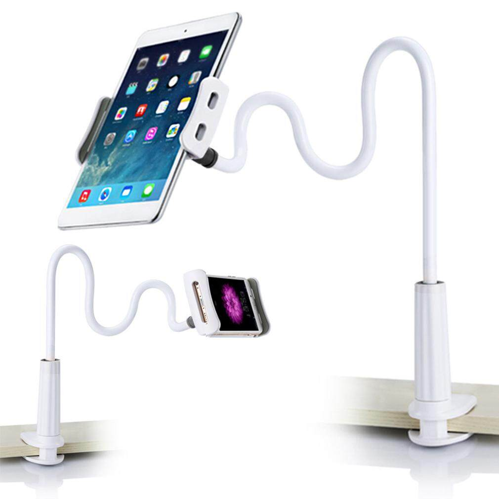 GOFT Lightweight Tablet Lazy 360 Degree Flexible Arm Table Holder Stand For Ipad white and black