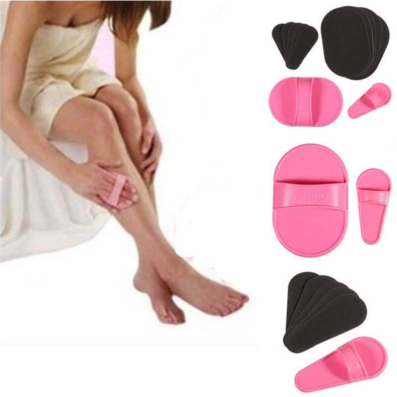 1 Set Pro Smooth Legs Skin Pads Arm Face Upper Lip Hair Removal Remover