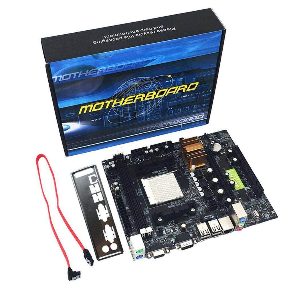 QNstar N68 C61 Desktop Computer Motherboard Support for AM2 AM3 CPU DDR2+DDR3 Memory - intl