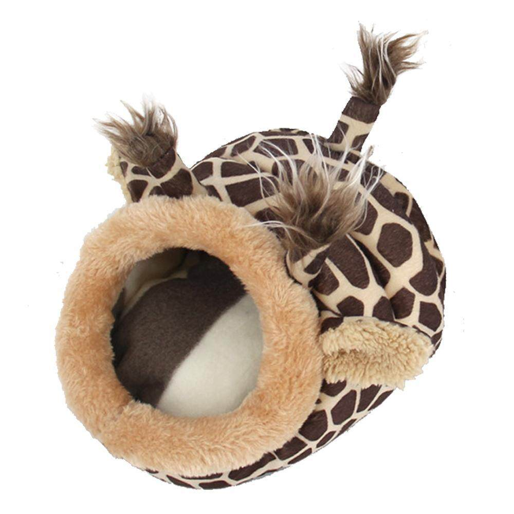Zeawhc Cute Animal Design Pet Cotton Nest House For Guinea Pig,hamster,chihuahua,snakes, Spiders And Other Small Pet - Intl By Zengchengwanghongfuzhuang.