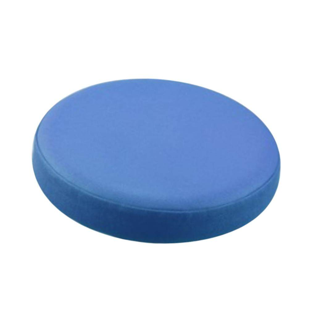 BolehDeals Elastic Bar Stool Covers Round Chair Seat Cover Cushion Slipcover Navy Blue - intl
