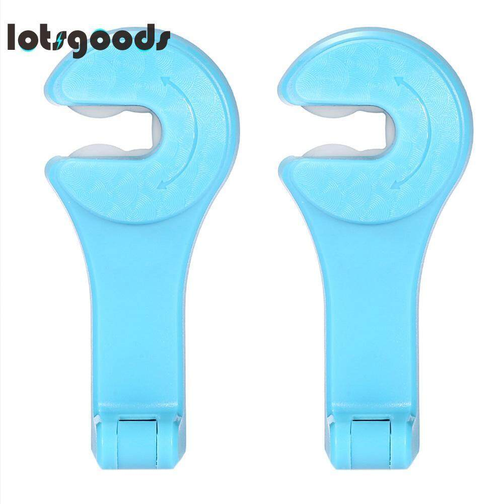 2 Pcs Universal Sandaran Kursi Mobil Gantungan Headrest Kait Kreatif Tempat Ponsel-Intl By Lotsgoods.