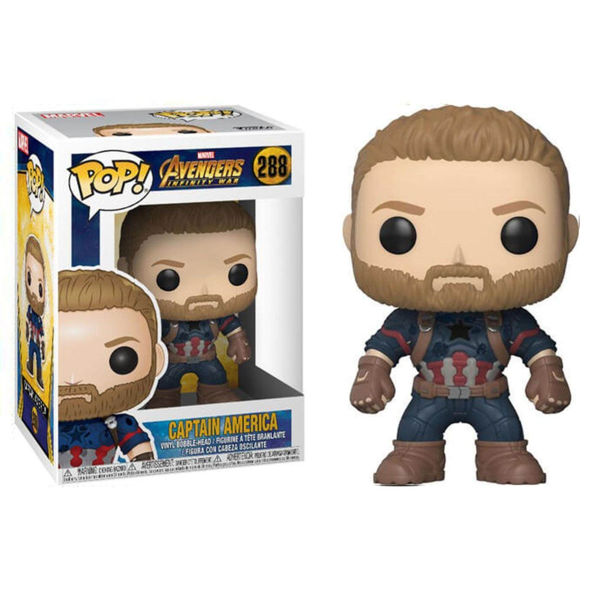 FUNKO POP! Marvel Avengers Infinity War Figure - Captain America Toys for boys