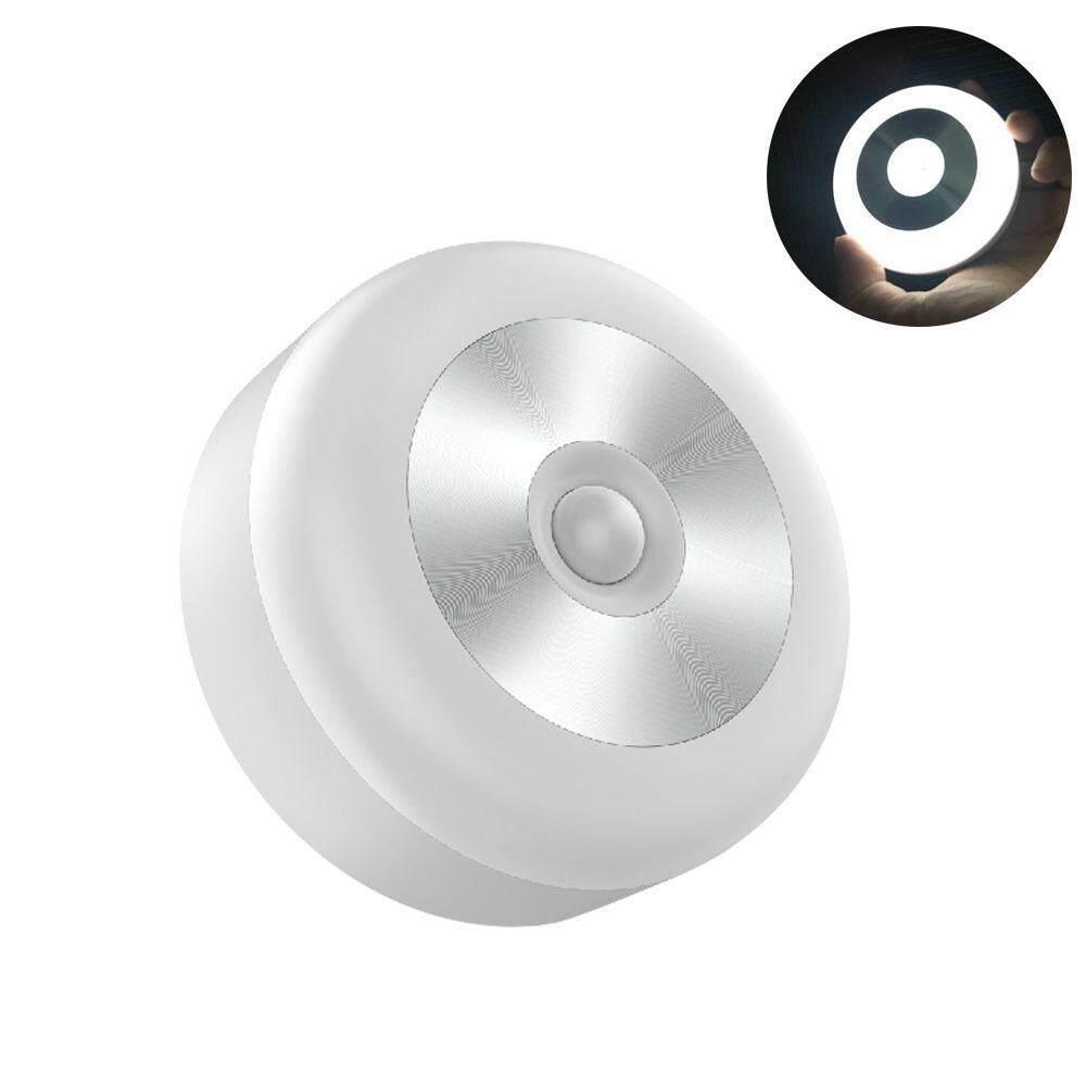 Aolvo Creative Rechargeable Body Sensor Night Light Minimalist Light Control Smart Night Light Cabinet Lamp,8.3*3.3cm - intl Singapore