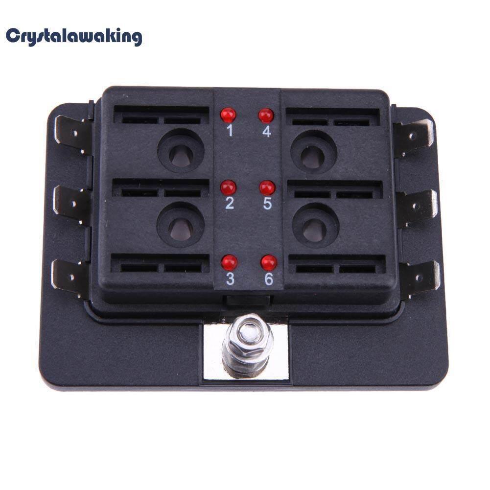 Automotive Accessories 4 Buy At Best Way Circuit Car Atc Ato Blade Fuse Box 12 32v Auto Boat 6 Standard Block
