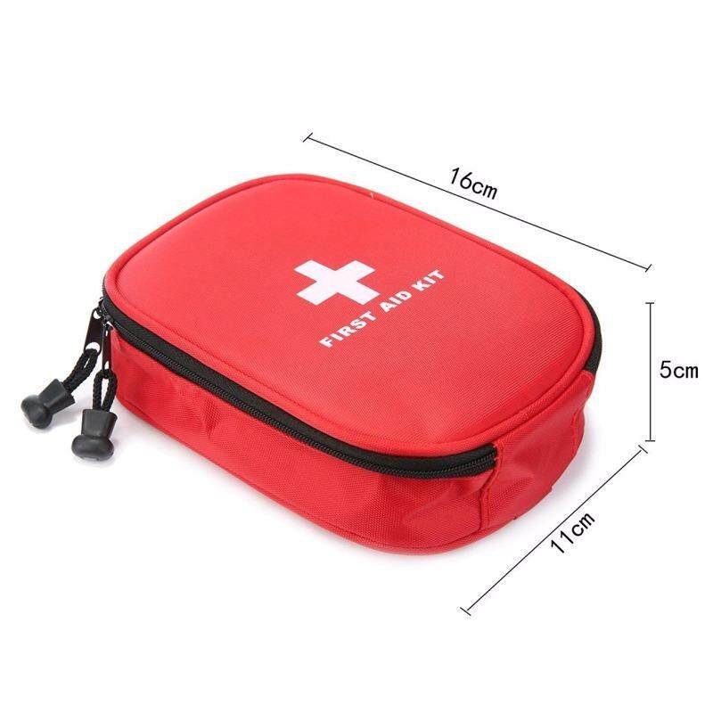 31 Pcs Medical Supplies For First Aid Kits Waterproof Oxford Travel Rescue Case Bag Medical Package - 5