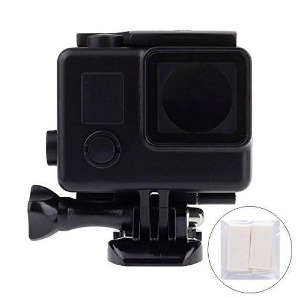 Trehapuva Blackout Wadah Anti Air Case Underwater Pelindung Menyelam Shell untuk GoPro Hero 4/3 +/3 dengan Anti Kabut Sisipan- 30 M Air Dalam Scuba-Intl