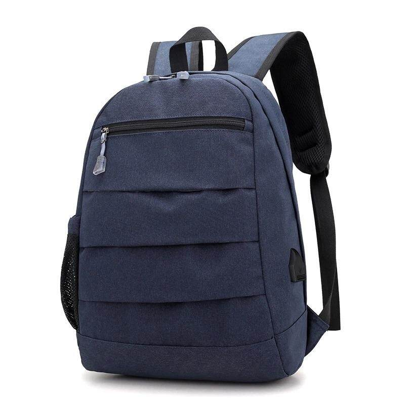 ffa533729119 USB Unisex Design Backpack Book Bags for School Backpack Casual Rucksack  Daypack Oxford Canvas Laptop Fashion
