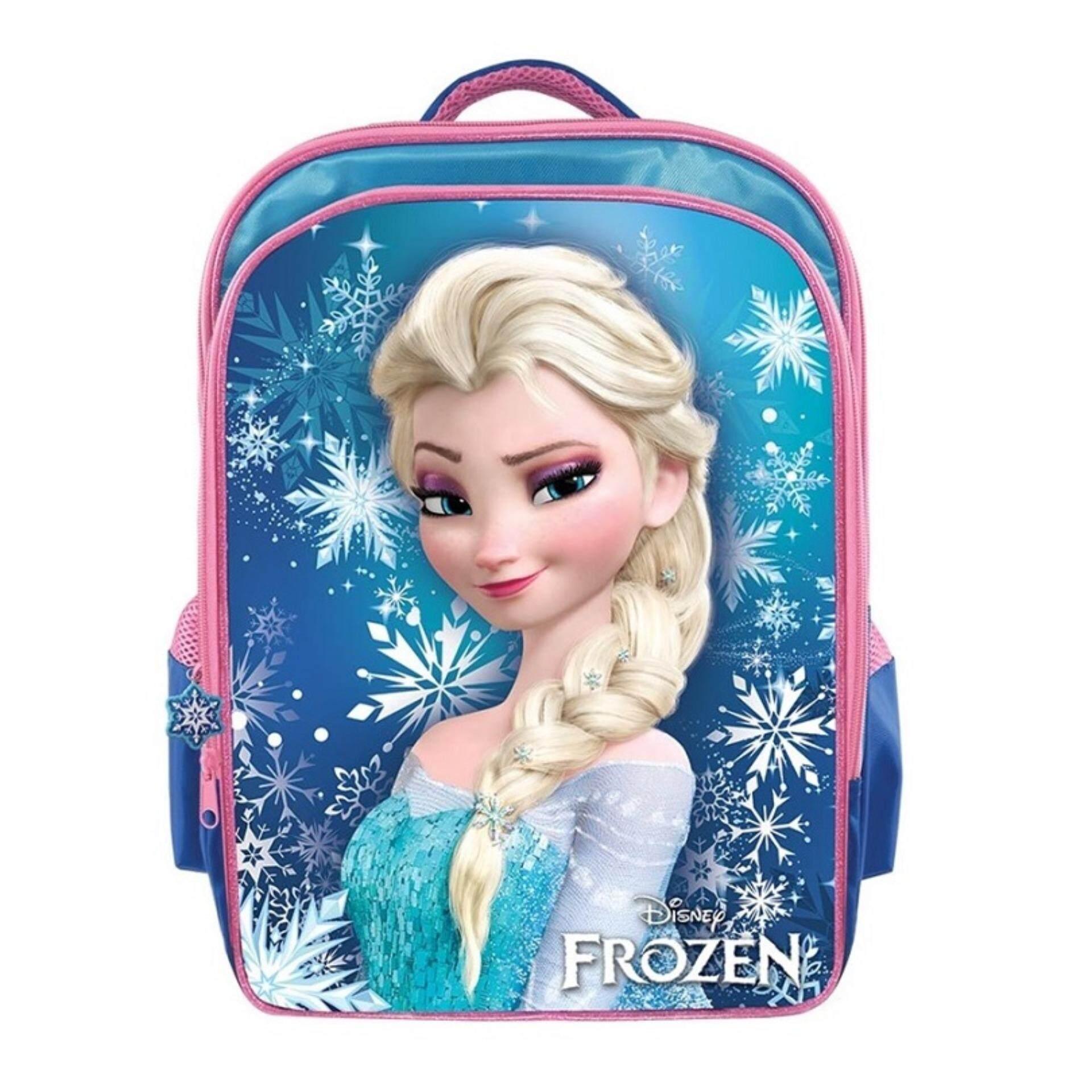 Disney Princess Frozen Pre School Backpack Kindergarten Nursery Kids Children School Bag - Elsa