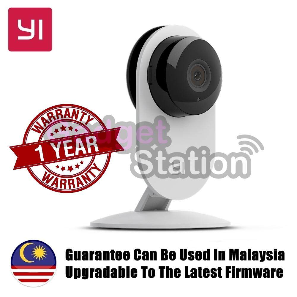 Fitur Official Yi Malaysia Wrty English Version Xiaoyi 360 Original Dome 720p Camera International White Home Hd Wifi Ip Ants Smart Cctv Night Infared Ir