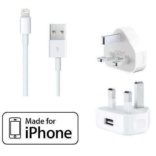 (ORIGINAL) Apple Lightning To USB Cable Genuine Authentic Original Certified 8 Pin for iPhone 5/5S/5C/6/6 Plus/6S/iPad with (ORI - intl