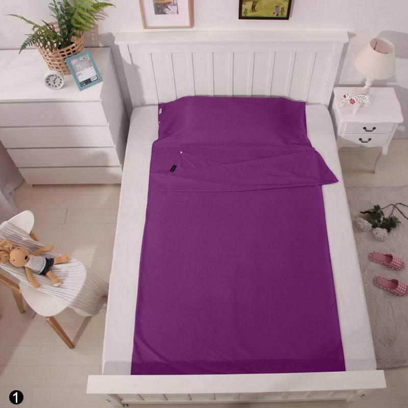 Price Ultra Light Envelope Outdoor Single Camping Travel Hiking Sleeping Bag 75 210Cm Light Purple Intl Oem New