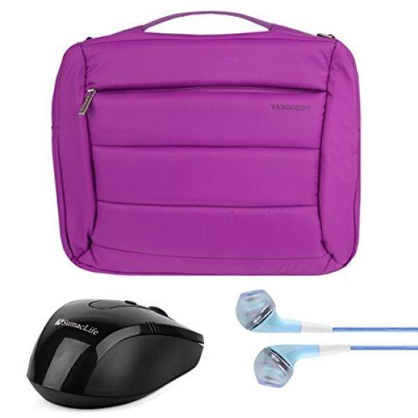 Vangoddy Bonni 3-inaptop Kurir Tas Ransel Tote untuk Lenovo YOGA 710 15/IdeaPad Y700 700 500 300 100 I5 /ThinkPad P E L Seri 14 15.6 + Earphone + Nirkabel Mouse-Internasional