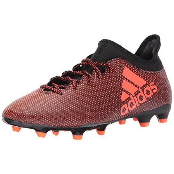 new style bae2b 43675 adidas Mens X 17.3 FG Soccer Shoe, Black Solar Red Solar Orange,