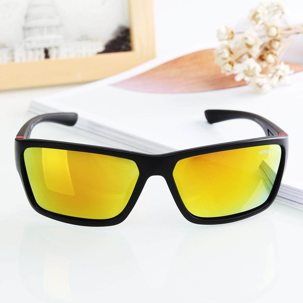 Rp 165.000 2 X Kdeam Kacamata Terpolarisasi Kacamata Hitam Retro Persegi ...