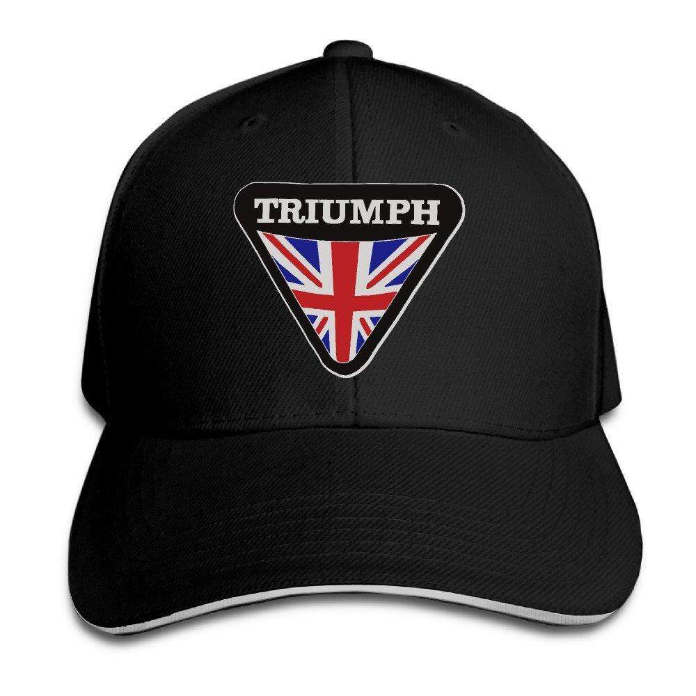 Triumph-Motorcycle-Logo-For-Mens Men's Flex Baseball Cap - intl