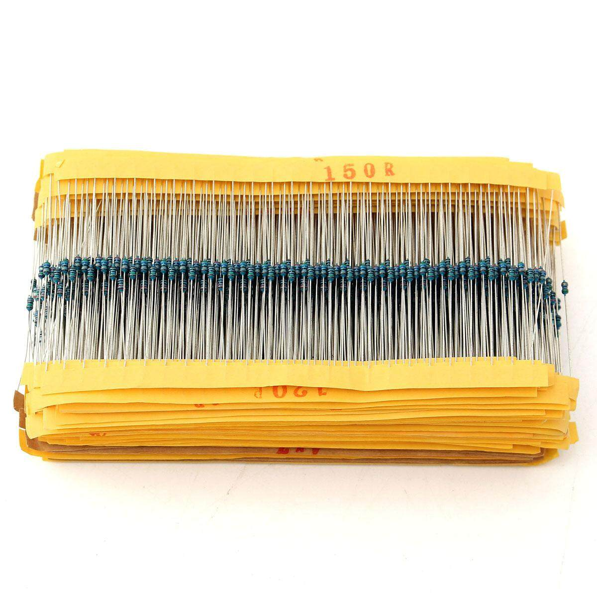 2425pcs Metal Film Resistor 1% 1/8w 0.125w Resistor Assortment Kit Assorted Kit - Intl By Teamwin.