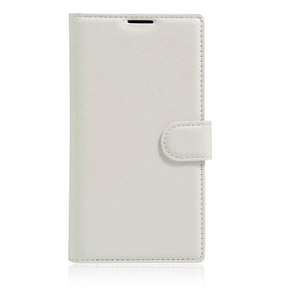 Leather Flip Cover Wallet Card Holder Case For Lenovo A7600 / K50 - intl