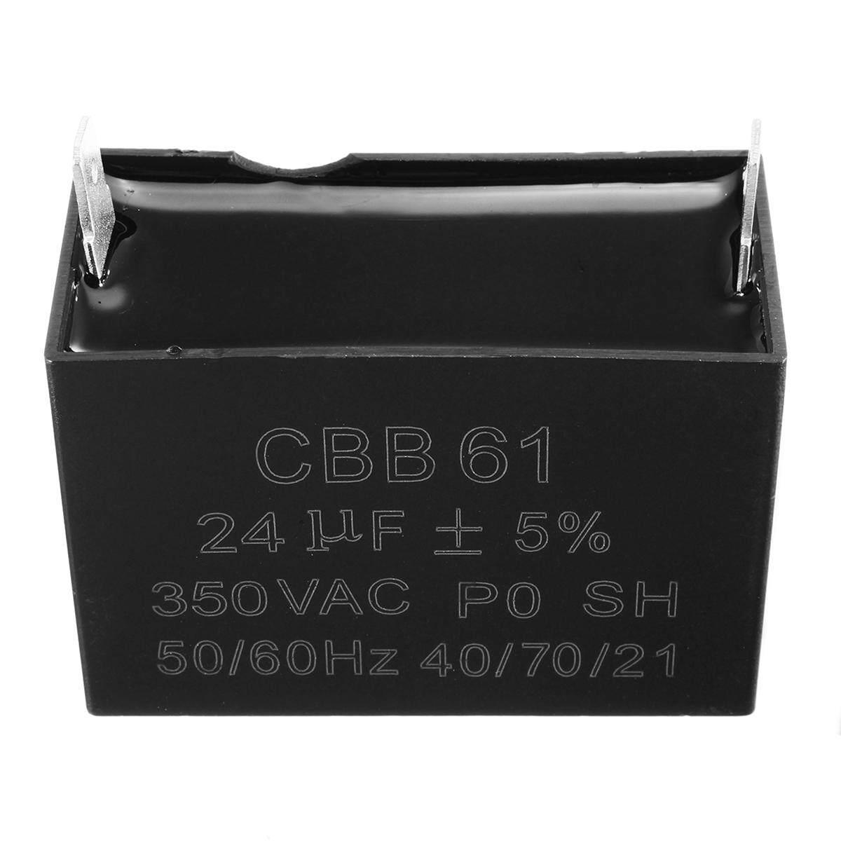 24uF Generator Capacitor 24uF CBB61 24 uF 50 or 60 Hz 400V AC UPTO 450V AC UL - intl