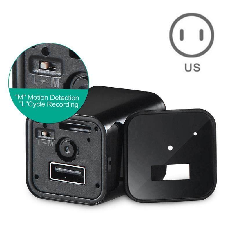 Us Plug Spy Camera Usb Wall Charger Mini Ac Adapter Nanny Camcorder Home Supply