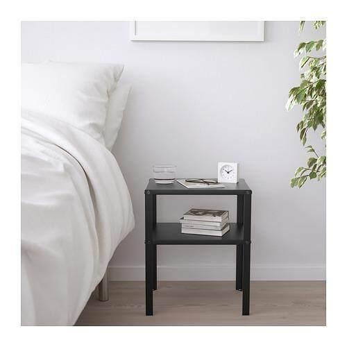 white ikea bedroom furniture. IKEA KNARREVIK Light Weight Side Table Black White Ikea Bedroom Furniture L