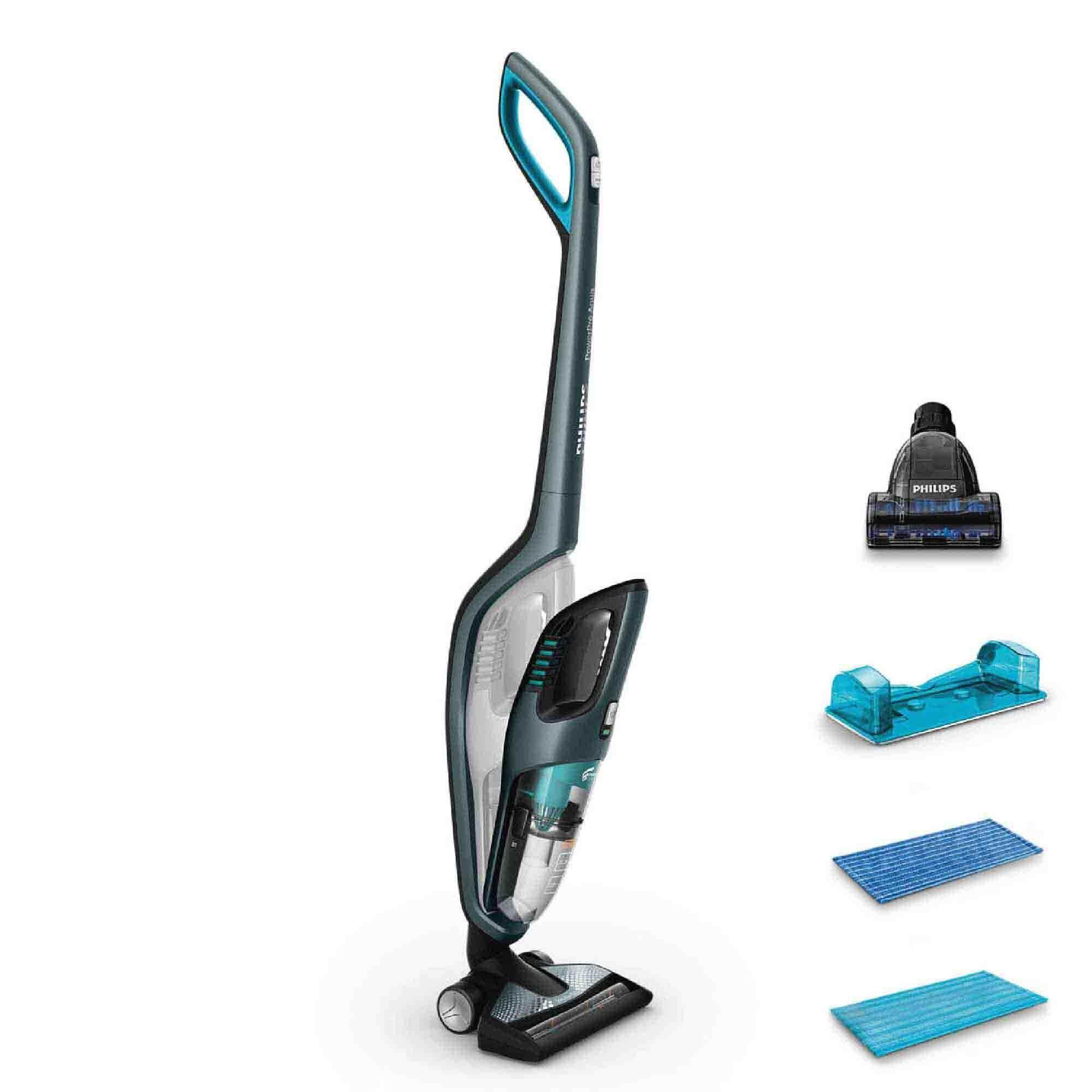 Philips 3-In-1 Vacuum Cleaner Mop FC6409 (2018 New Model) Handheld