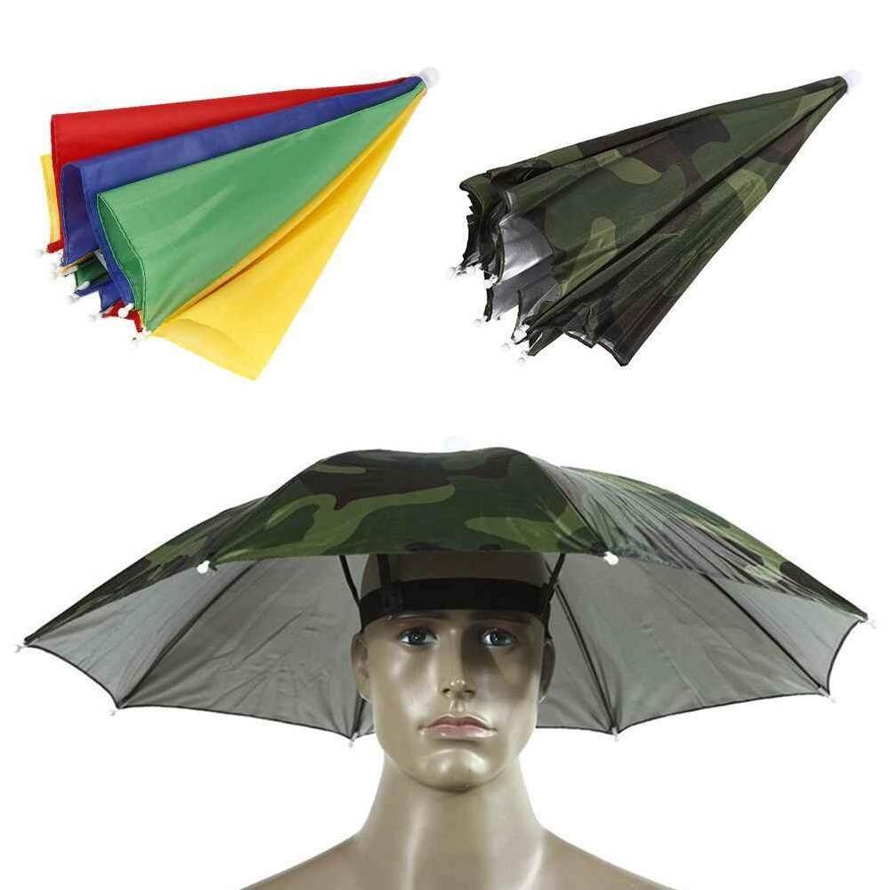 fdd2664e3af  Deyln The Creative and innovative fashionSun Umbrella Hat Outdoor Foldable  Golf Fishing Camping Headwear